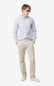 SHIRT STRETCH OXFORD TRIM FIT