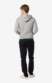 Boomerang - Philip full zip hoodie - Grey melange