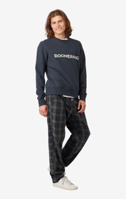 Boomerang - PHILIP CREW NECK SWEATER - Night sky
