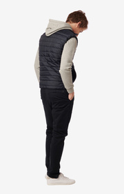 JOHNNY QUILTED VEST Night sky