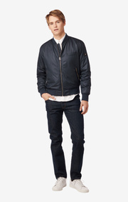 Boomerang - MIKKEL BOMBER JACKET - Night sky