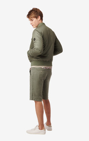 MIKKEL BOMBER JACKET Amazon green