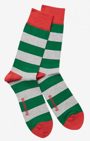 Boomerang - Malmö block stripe - Racing green