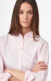 Boomerang - LILLY SOLID ORGANIC OXFORD SHIRT - Powder pink