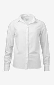 Boomerang - LILLY SOLID ORGANIC OXFORD SHIRT - White