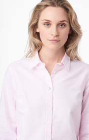 Boomerang - Lilly striped oxford shirt - Powder pink