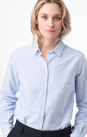 Boomerang - Lilly striped oxford shirt - Ice blue