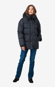 Boomerang - ALEXANDRA DOWN JACKET - Blackish navy