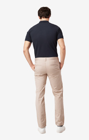 STEVE COTTON SATIN CHINO