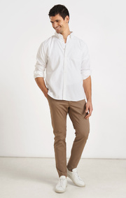 Boomerang - NEW OXFORD SOLID TAILORED FIT BD - White