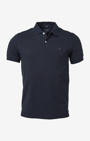 Boomerang - Joe polo piqué  - Blackish navy