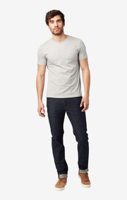 BASIC O-NECK TSHIRT GREY