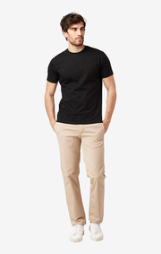BASIC O-NECK T-SHIRT BLACK