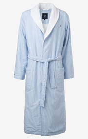 Boomerang - HILLE BATHROBE - Ice blue