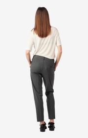 Boomerang - Ditte trousers - Dk grey mela