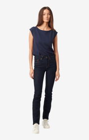 Boomerang - ASTA DENIM 5-POCKET - Dark Indigo