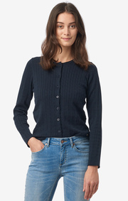 Boomerang - Mejram cable cardigan - Night sky