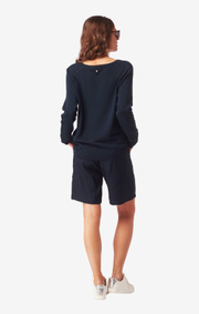 Boomerang - ANNAKATARINA SWEATER - Midnight blue