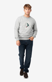 Boomerang - BOOMERANG SWEAT CREW NECK - Lt grey melange