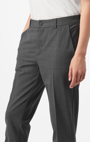 Boomerang - Trousers ditte - Grey melange