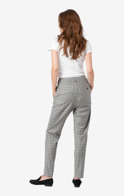 CHECKED TROUSERS DITTE