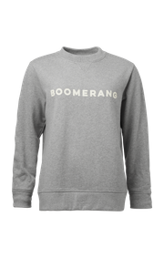 Boomerang - Erin sweathirt   - Lt grey melange