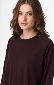 MERINO SWEATER O-NECK KIRA