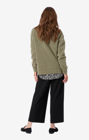 Boomerang - O-NECK SWEATER RUT - Khaki green