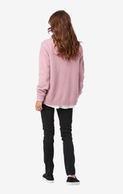 Boomerang - O-NECK SWEATER RUT - Pink lilly