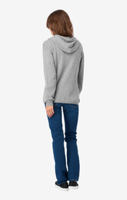 CASHMERE BLEND HOODIE CHIC
