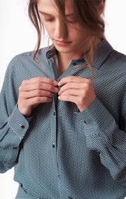 Zest printed blouse