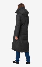 Boomerang - Long down coat warm - Black