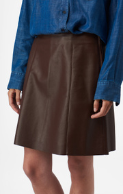 LEATHER SKIRT VERA
