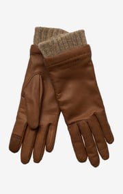 LEATHER GLOVE HANNE