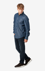 Indigo dot shirt regular fit bd