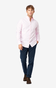 SOLID OXFORD SHIRT REGULAR FIT BD
