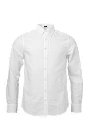 SOLID OXFORD SHIRT SLIM FIT BD