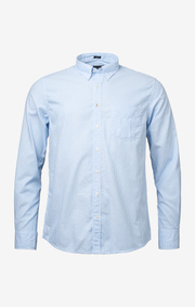 Banker stripe oxford shirt regular fit bd