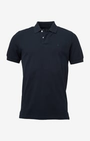Boomerang - JOE ORGANIC COTTON S.S. POLO PIQUÉ - Black