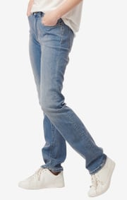 Boomerang - Asta denim 5-pocket - Light indigo