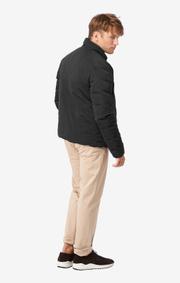 Boomerang - Down reversible jacket - Black