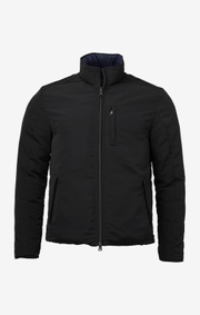 Boomerang - Down reversible jacket - Black