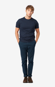 Boomerang - BASIC UNDER TEE - Midnight blue