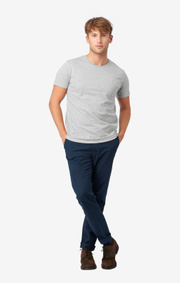 Boomerang - BASIC UNDER TEE - Lt grey melange