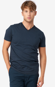 Boomerang - Jarl v-neck t-shirt - Midnight blue