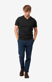 Boomerang - Jarl v-neck t-shirt - Black