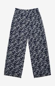 Boomerang - Hulda printed trouser - Blue nights
