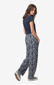 Boomerang - Hulda printed trouser - Blue nights