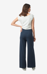 Boomerang - Agnes jersey pant - Blue nights