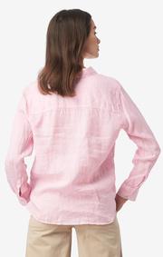 Boomerang - LINA LINEN SHIRT - Middway pink